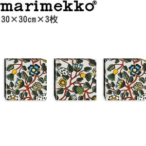 マリメッコ ファブリックパネル ピエニ ティアラ(Pieni Tiara)300×300×30mm×3枚【北欧雑貨/北欧生地】各カラーの画像