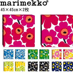 マリメッコ ファブリックパネル ピエニ ウニッコ2(Pieni Unikko2)450×450×30mm×2枚【北欧雑貨/北欧生地】各カラーの画像