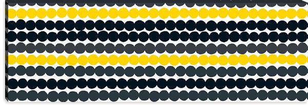 マリメッコ ファブリックパネル ラシィマット(Rasymatto)450×1350×30mm【北欧雑貨/北欧生地】イエローの詳細画像