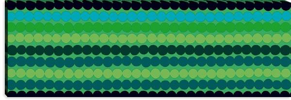 マリメッコ ファブリックパネル ラシィマット(Rasymatto)450×1350×30mm【北欧雑貨/北欧生地】グリーンの詳細画像