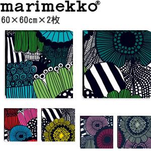 マリメッコ ファブリックパネル シィールトラプータルハ(Siirtolapuutarha)600×600×30mm×2枚【北欧雑貨/北欧生地】各カラーの画像