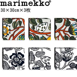 マリメッコ ファブリックパネル ティアラ(Tiara)300×300×30mm×3枚【北欧雑貨/北欧生地】各カラーの画像