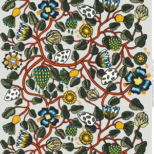 マリメッコ ファブリック ティアラ(Tiara)【北欧雑貨/北欧生地】マルチの生地画像