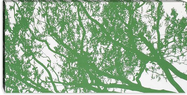 マリメッコ ファブリックパネル トゥーリ(Tuuli)600×1200×30mm【北欧雑貨/北欧生地】グリーンの詳細画像