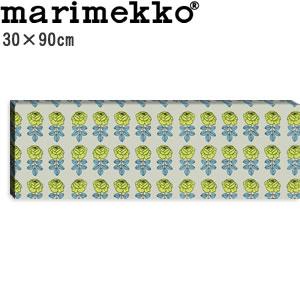 マリメッコ ファブリックパネル ヴィキルース(Vihkiruusu)300×900×30mm【北欧雑貨/北欧生地】の全体画像