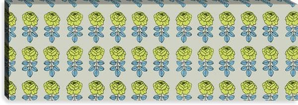 マリメッコ ファブリックパネル ヴィキルース(Vihkiruusu)300×900×30mm【北欧雑貨/北欧生地】の詳細画像