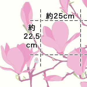 マリメッコ(marimekko)ケイサリンナ(Keisarinna)の生地(ファブリック)詳細サイズ画像