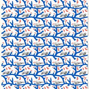 マリメッコ(marimekko)生地(ファブリック)ピックパッカネン(Pikkupakkanen)【10cm単位販売】の詳細画像