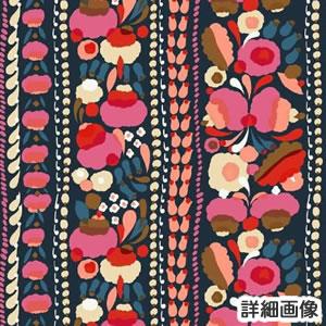 マリメッコ(marimekko)生地(ファブリック)トゥップライネン(Tuppurainen)ピンクの部分詳細画像