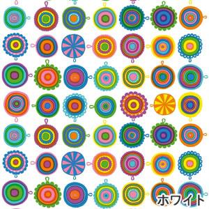 マリメッコ(marimekko)ラップリーサ(LAPPULIISA)ホワイトの生地(ファブリック)全体画像