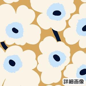 マリメッコ(marimekko)生地(ファブリック)ピエニウニッコ(Pieni Unikko)ベージュホワイトの詳細画像