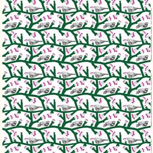 マリメッコ(marimekko)生地(ファブリック)ピックパッカネン(Pikkupakkanen)パナマ織り【10cm単位販売】の詳細画像