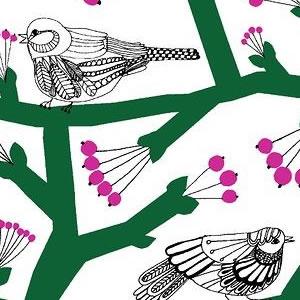 マリメッコ(marimekko)生地(ファブリック)ピックパッカネン(Pikkupakkanen)パナマ織り【10cm単位販売】の詳細サイズ画像