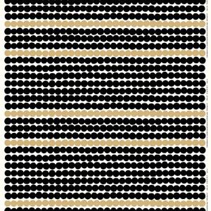 マリメッコ(marimekko)ラシィマット(Rasymatto)ゴールド(限定色)の生地(ファブリック)全体画像