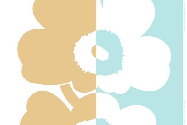 マリメッコ(marimekko)生地(ファブリック)スーラ ウニッコ(Suur Unikko)【1柄単位販売】の全体画像