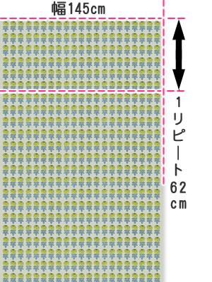 マリメッコ(marimekko)ヴィキルース(Vihkiruusu)の生地(ファブリック)画像
