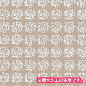 マリメッコ(marimekko)テーブルクロス(生地)プケッティ(Puketti)ベージュ【撥水加工/10cm単位販売】の全体画像