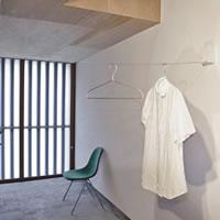 室内物干し 4m【おしゃれ/洗濯用品/デザイナーズ雑貨】の使用画像(エントランス)