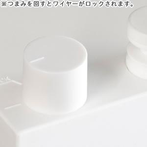 室内物干し 4m【おしゃれ/洗濯用品/デザイナーズ雑貨】のつまみ詳細画像