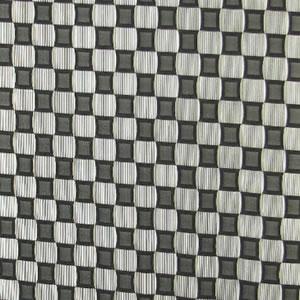 ファニーストリングカーテン チェス 95×176cm【パネルカーテン/北欧】ブラックの詳細画像