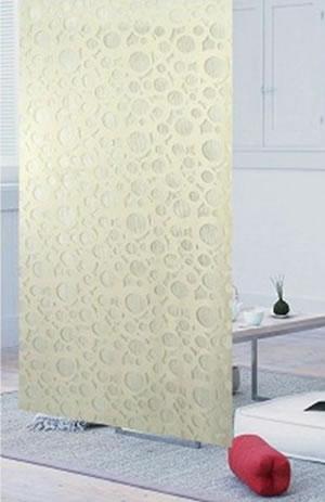 ファニーストリングカーテン サークル 95×176cm アイボリーの使用画像1