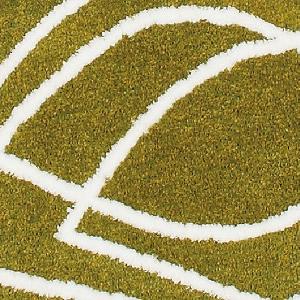 玄関マット フィーユ【マイクロファイバー/北欧インテリア】グリーンの詳細画像