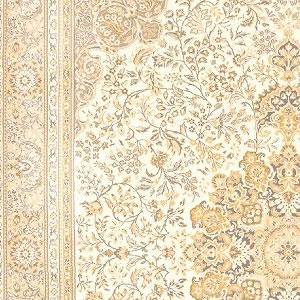ウィルトン織り ラグマット グランドール【ペルシャ絨毯】アイボリーの詳細画像