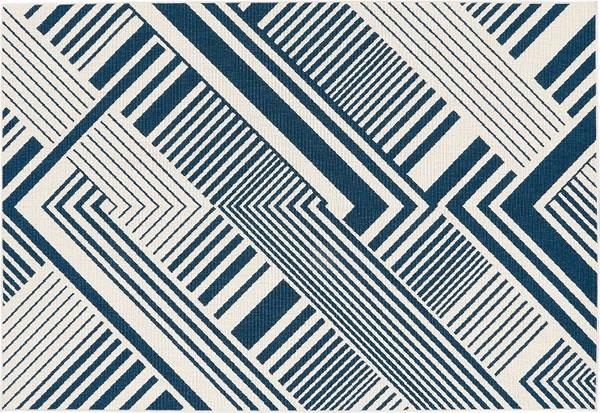 ウィルトン織り ラグマット コルト【おしゃれ/人気】ネイビーの詳細画像