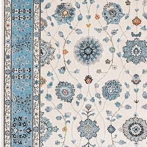 ウィルトン織り ラグマット ラグナ【ペルシャ絨毯】アイボリーの詳細画像