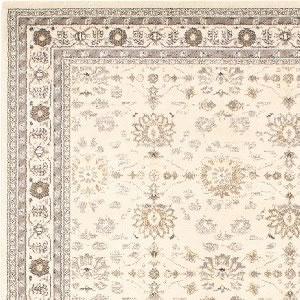 ウィルトン織り ラグマット レジア【ペルシャ絨毯/ヴィンテージ】アイボリーの詳細画像
