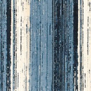 ウィルトン織り ラグマット シフレ【おしゃれ/ヴィンテージ風】ブルーの詳細画像