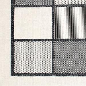 ウィルトン織り ラグマット トルド【北欧/おしゃれ】ブラックの詳細画像