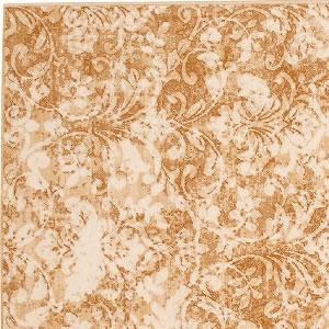 ウィルトン織り ラグマット レント【ダマスク絨毯】ベージュの詳細画像