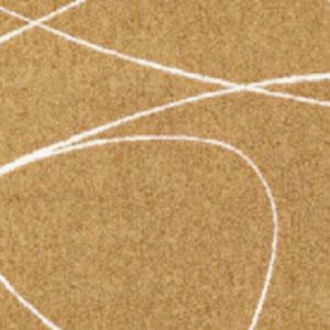 タフテッド ラグマット ジーン【エコ/北欧/おしゃれ】ダークブラウンの詳細画像