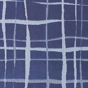 タフテッド ラグマット スコープ【洗える/おしゃれ】ブルーの詳細画像
