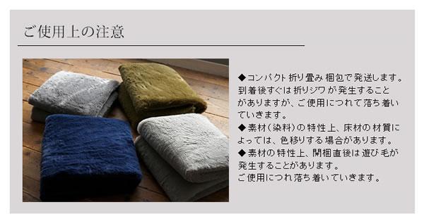 洗える ラグマット TS502【おしゃれ/春夏秋冬】使用上の注意説明画像