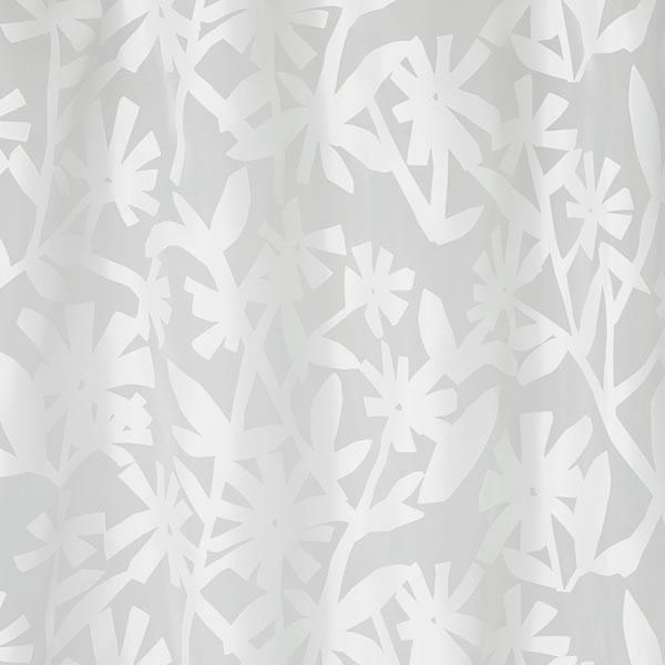レースカーテン クチナシボイル 1枚入【北欧/おしゃれ】の詳細画像