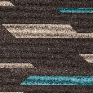 ダイニングラグマット フレック(FLEC)【撥水/拭ける/北欧】ブラックの詳細画像