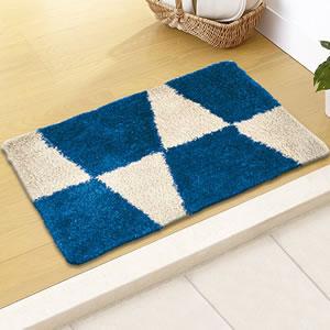 スミノエの玄関マット MOM601 フラッグ【おしゃれ】ブルーの使用画像