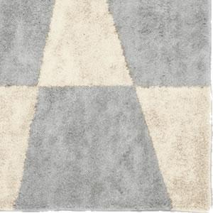 スミノエの玄関マット MOM601 フラッグ【おしゃれ】グレーの詳細画像