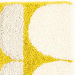 スミノエの玄関マット OPM103【北欧インテリア/おしゃれ】イエローの詳細画像