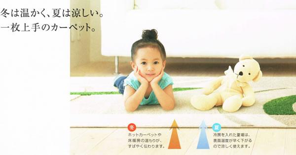 スミノエのラグマット レシェ(LECHER)【おしゃれ/通年】の機能説明画像