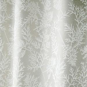 スミノエの北欧風既製カーテン エダ グレー 1枚入【北欧インテリア】のファブリック詳細画像