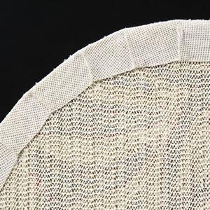 北欧風のスミノエ 玄関マット アンナ(ANNA)円形【北欧インテリア/おしゃれ】の裏面画像