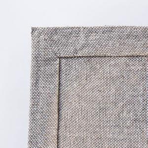 スミノエのラグマット ボーン(BONE)【おしゃれ/北欧デザイン】の裏面画像