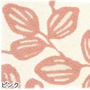 スミノエの玄関マット ユーカリ【おしゃれ/北欧インテリア】ピンクの詳細画像