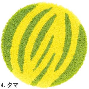 スミノエのチェアパッド 丸 タマ【おしゃれ/北欧インテリア】の全体画像