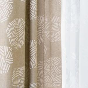 スミノエの遮光カーテン イシヅツミ(ISHIZUTSUMI)1枚入【北欧/おしゃれ】の使用詳細画像