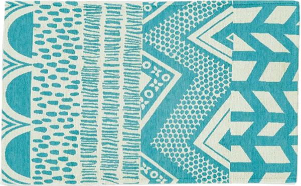 スミノエの玄関マット FPM103【おしゃれ/インテリア】ブルーの全体画像