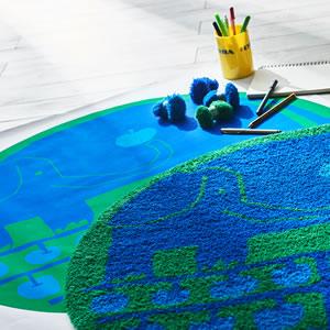 スミノエのチェアパッド リンゴノキ(ringonoki)35×35cm【北欧/おしゃれ/鈴木マサル】のお部屋使用画像